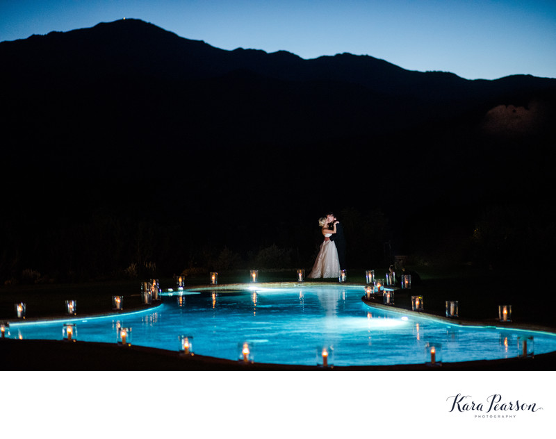 Night Wedding Portraits Garden Of The Gods