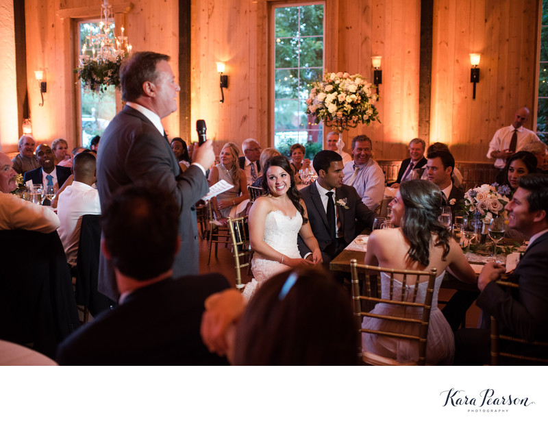 Crooked Willow Farms Elegant Reception