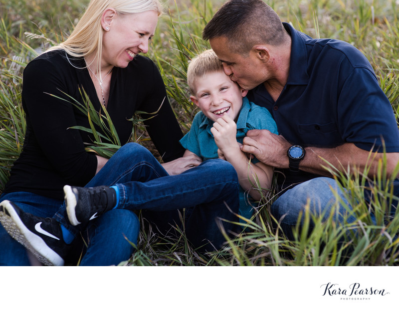 Littleton Family Portraits In Fall