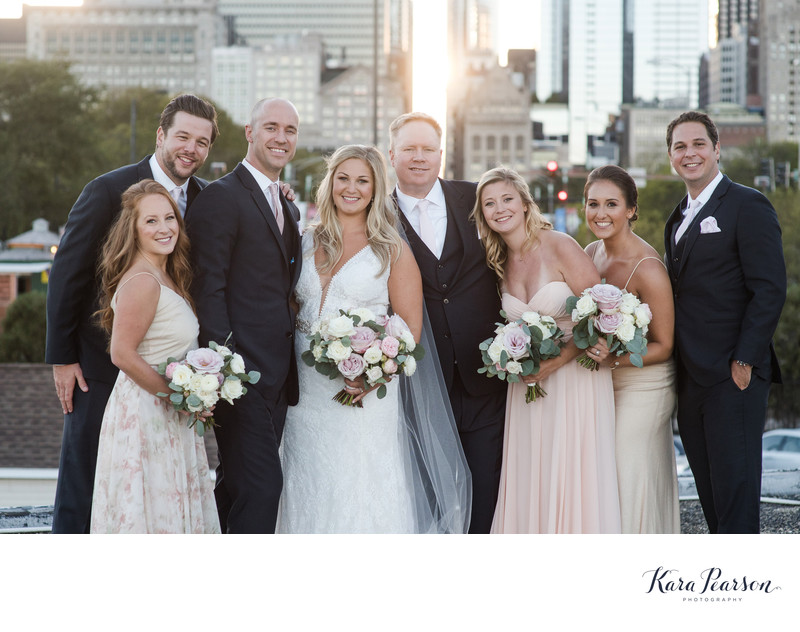Wedding At Chicago Yacht Club In Fall