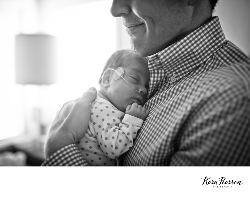 Preemie Newborn Baby Portraits In Denver