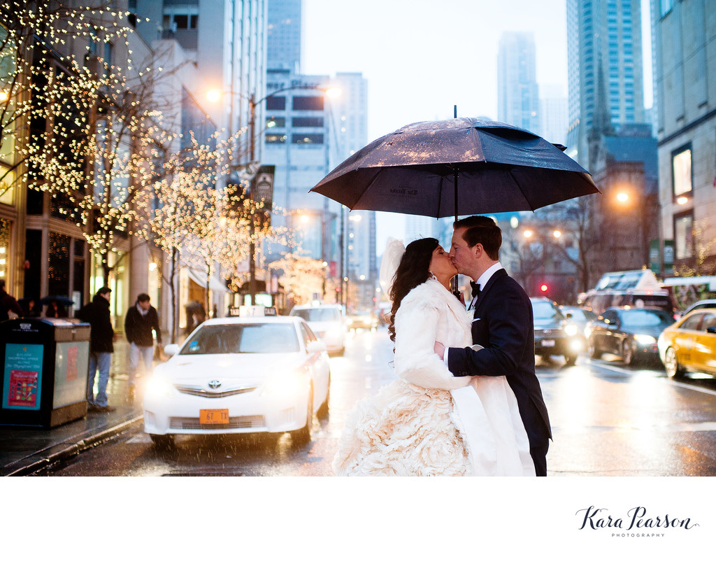 Winter Wedding In Chicago At The Drake