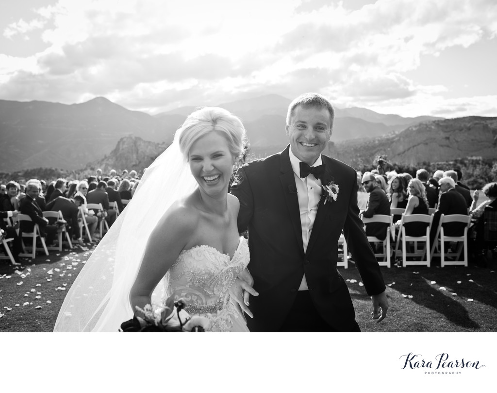 Natural Wedding Photos Colorado Springs