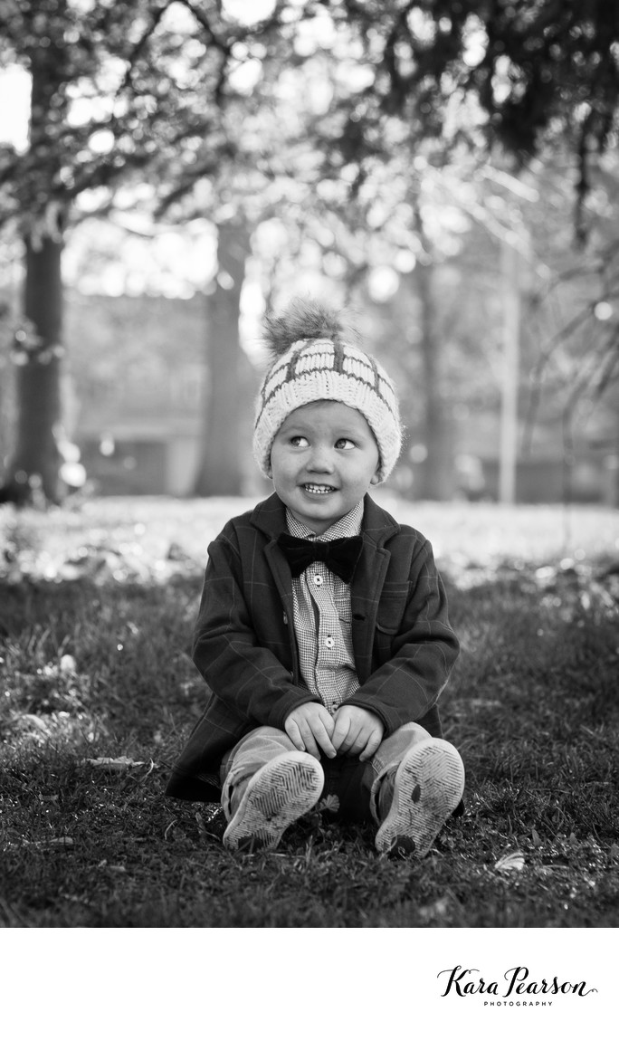 A Fall Child Portrait In Denver Washington Park