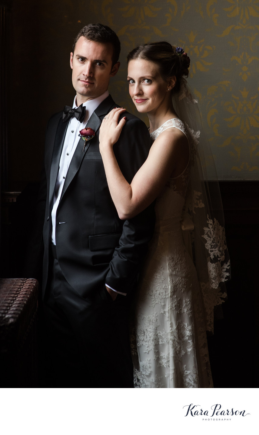 Wedding Portrait At Semple Mansion In Minneapolis