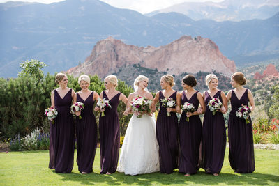 Chic Wedding Garden of the Gods Club and Resort