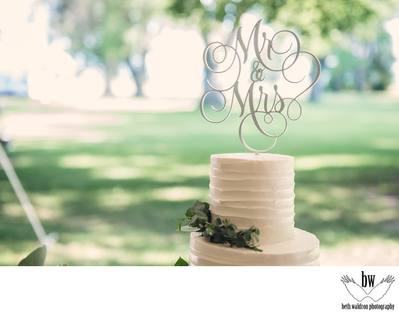 Cake topper - albuquerque wedding photographers