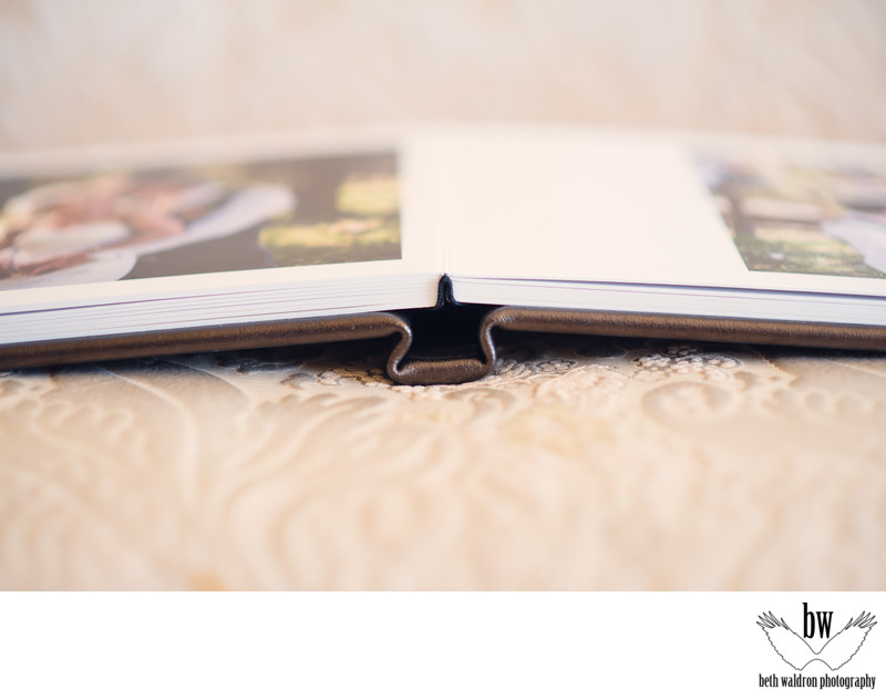 Beautiful wedding album details