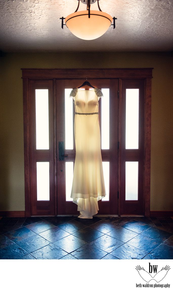New Mexico wedding dress photo