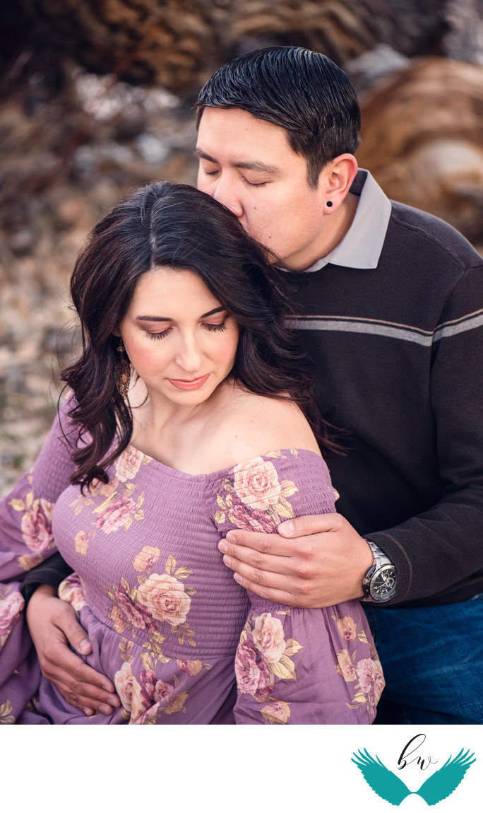Love engagement session in the bosque Corrales, New Mexico