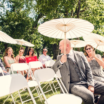Outdoor wedding at victorian mansion abq wedding photo
