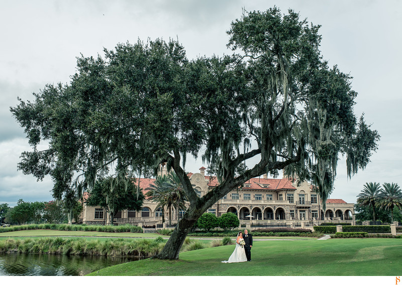 Wedding at TPC Sawgrass