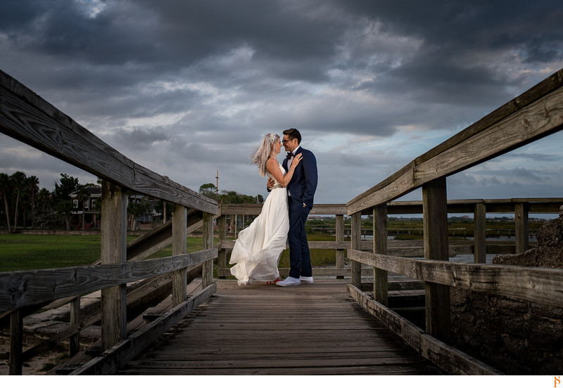 Wedding by the River in St Augustine