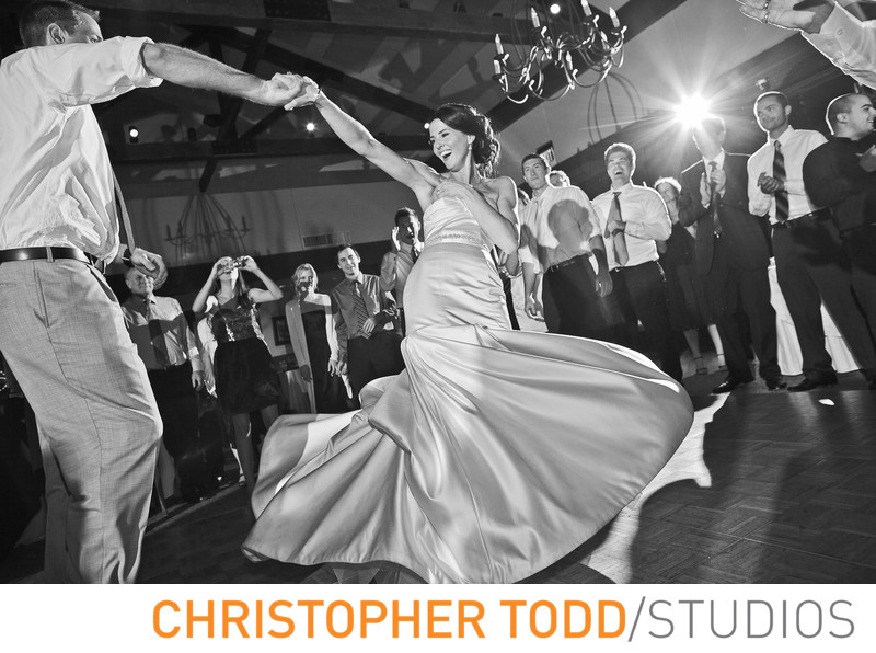 Calamigos Ranch Wedding Bride and Groom First Dance