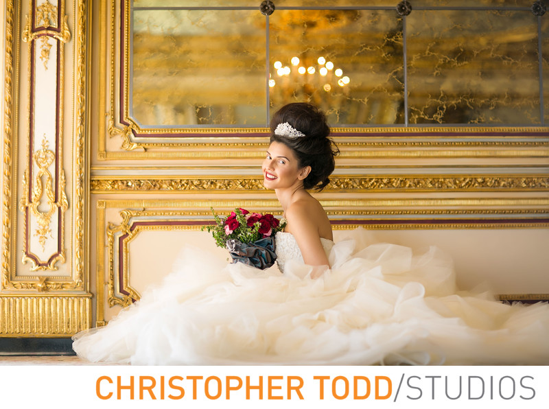 Bridal Fashion Photography at Trump National LA