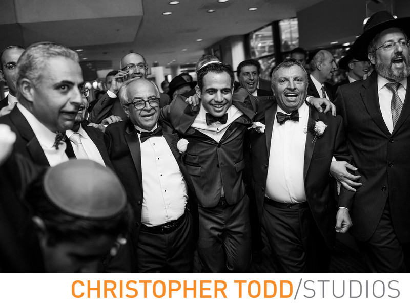Hilton Los Angeles Universal Jewish Wedding Photography