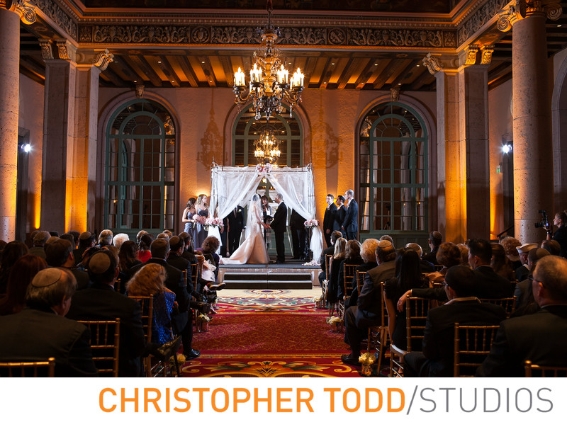 Millennium Biltmore Hotel Wedding Ceremony