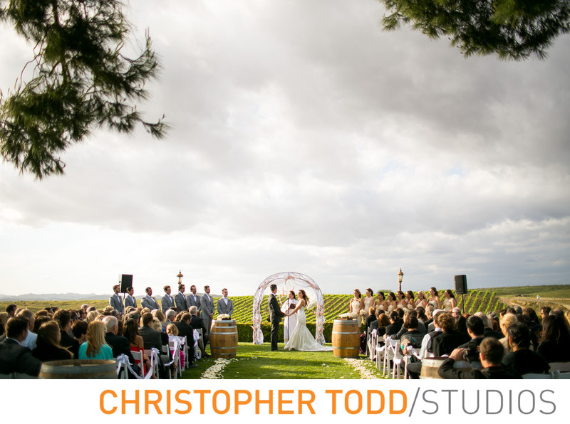 Callaway Winery Wedding | Christopher Todd Studios