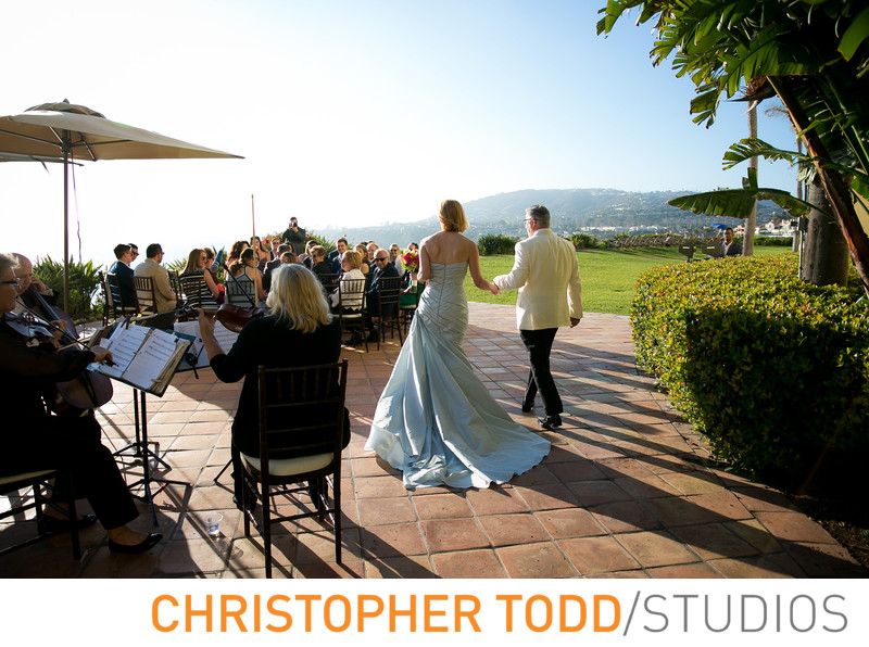 Ritz Carlton Laguna Niguel Wedding Ceremony