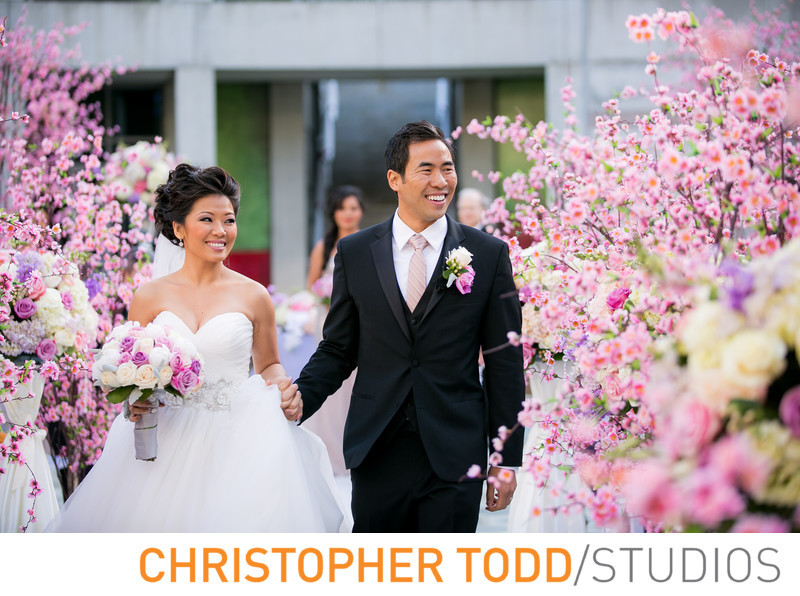 Skirball Cultural Center Wedding Ceremony