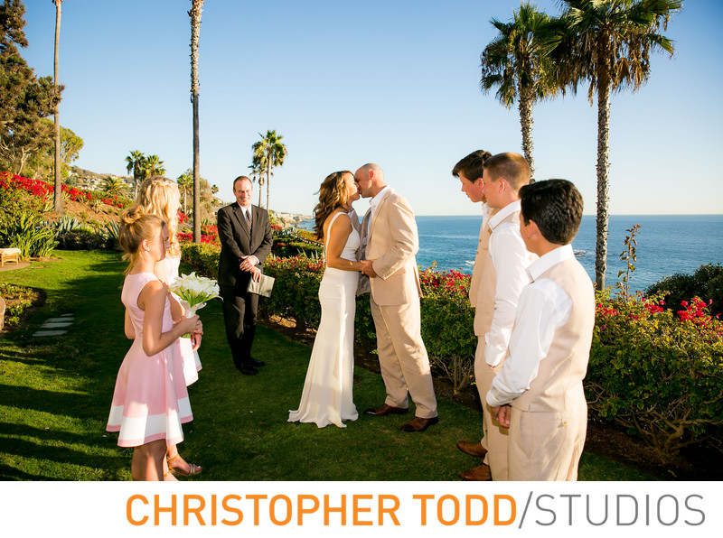 Montage Laguna Beach Wedding Ceremony