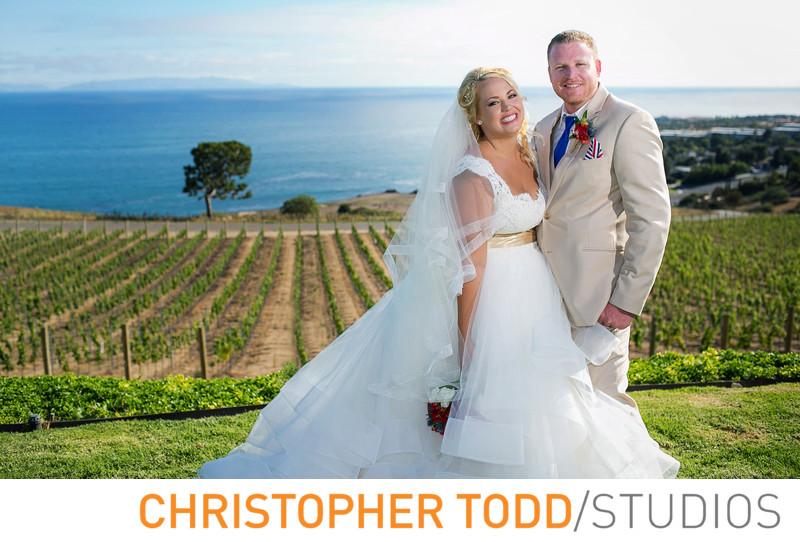 Catalina View Gardens Wedding Photographer
