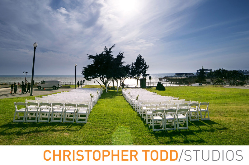 Redondo Beach Historic Library Wedding Ceremony