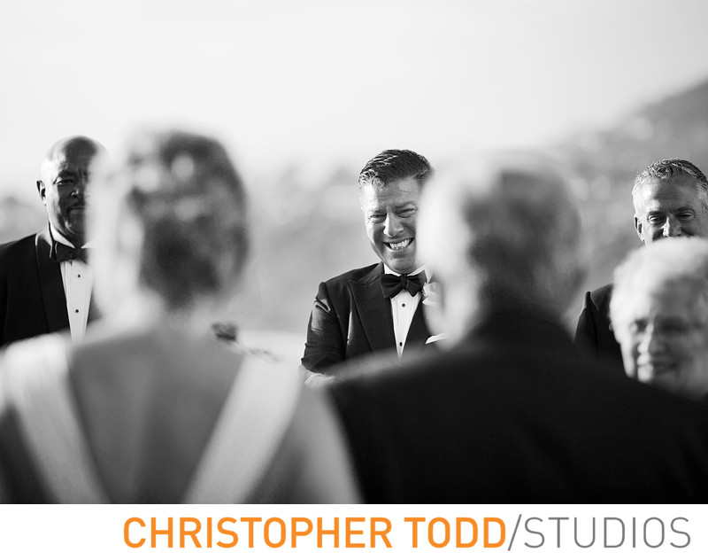 Ritz Carlton Laguna Niguel Wedding Featuring Bride & Groom