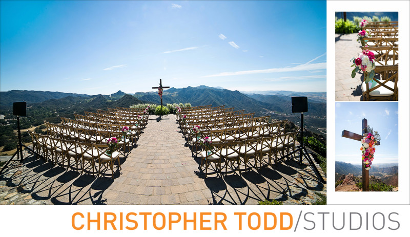 Malibu Rocky Oaks Estate Wedding Ceremony Photos