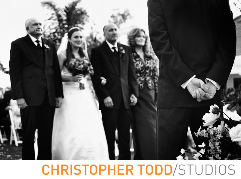 Montage Beverly Hills Outdoor Wedding Ceremony