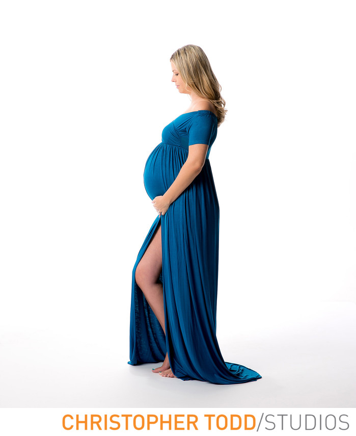Studio Maternity Session In Orange county