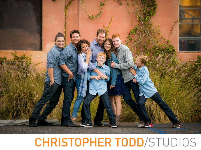 Family Portrait Photographer in Orange County