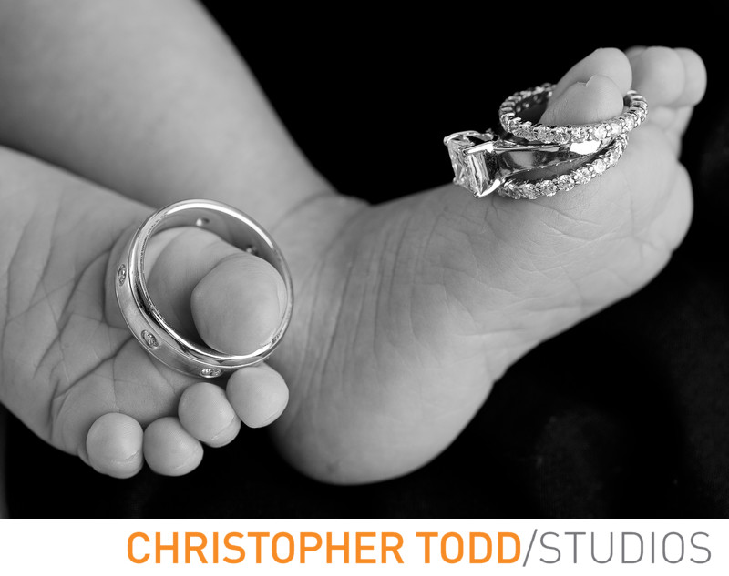 Baby Toes and Wedding Rings