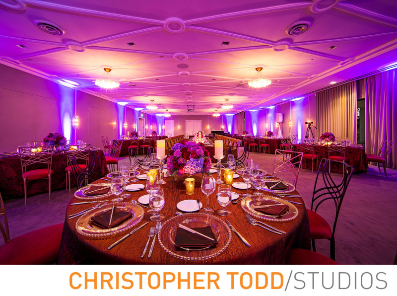 Manhattan Country Club Wedding Decor