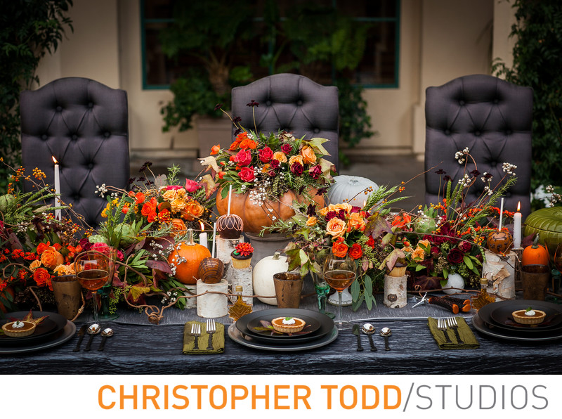 Fall Wedding Styled Fairmont Newport Beach