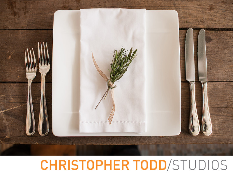 Rustic Place Setting Saddlerock Ranch