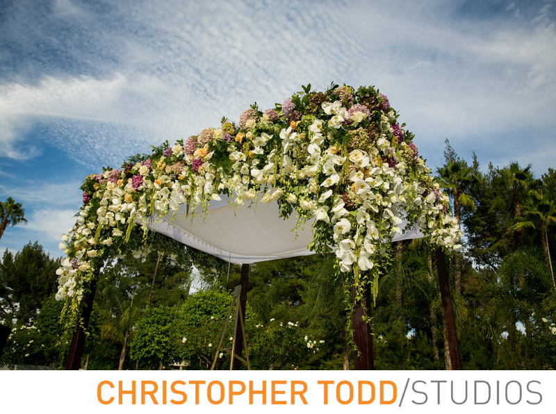 ​Chuppah at Universal Sheraton Wedding