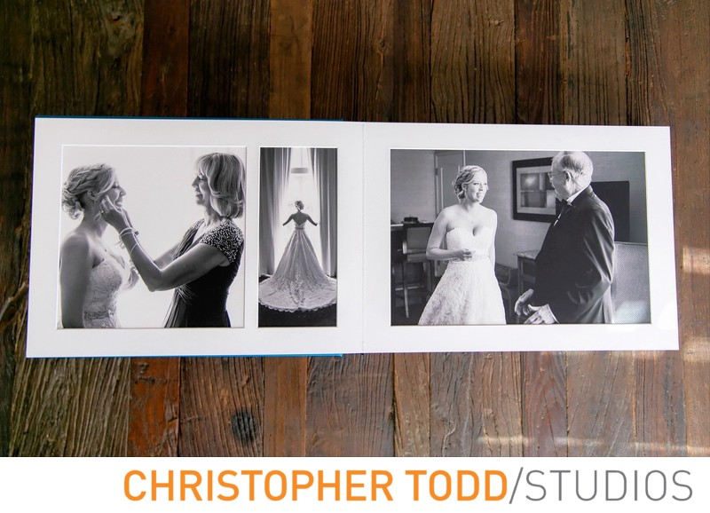 Traditional Wedding Album Newport Beach