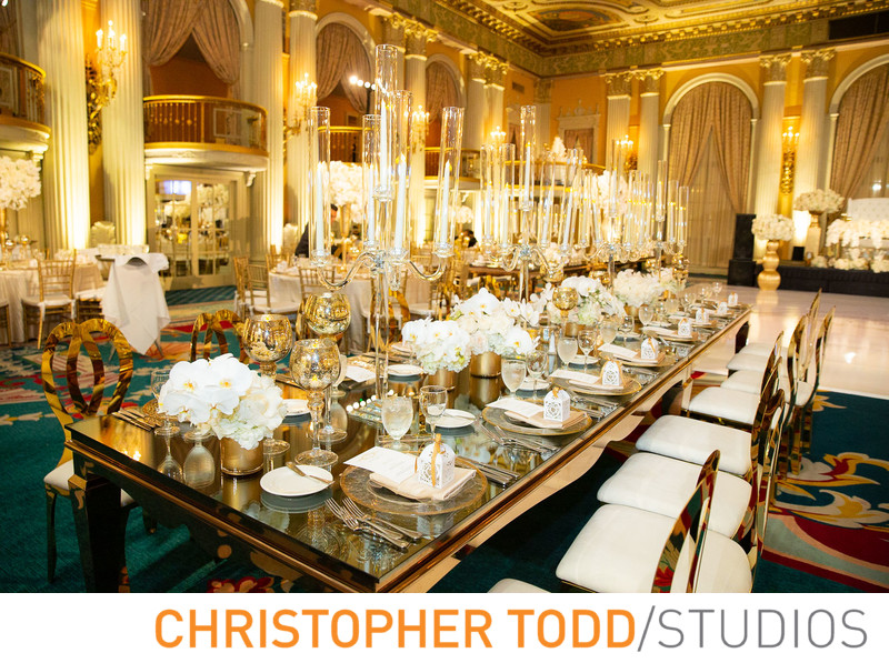Millennium Biltmore Hotel Wedding Reception