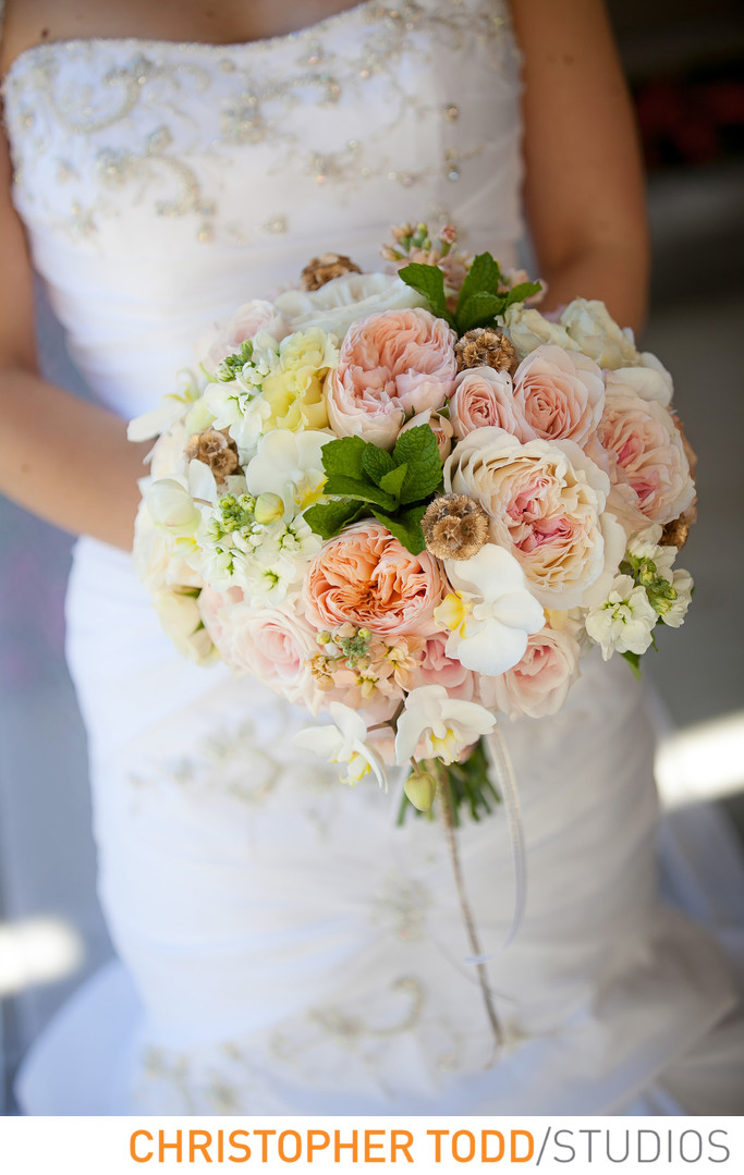 Brides Bouquet Hyatt Huntington