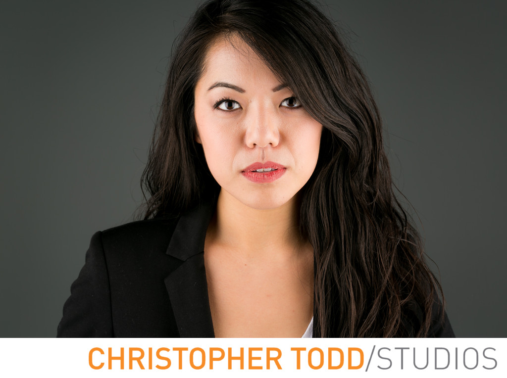 Orange County Female Asian Model Headshots