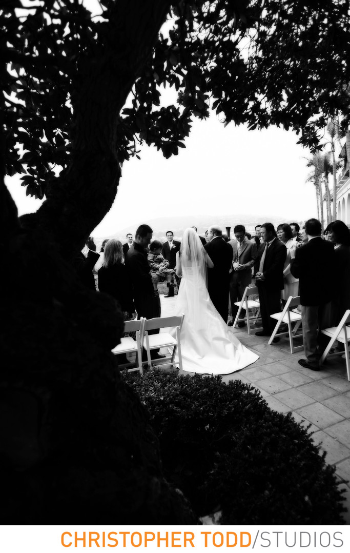 Ritz Carlton Laguna Niguel Outdoor Ceremony