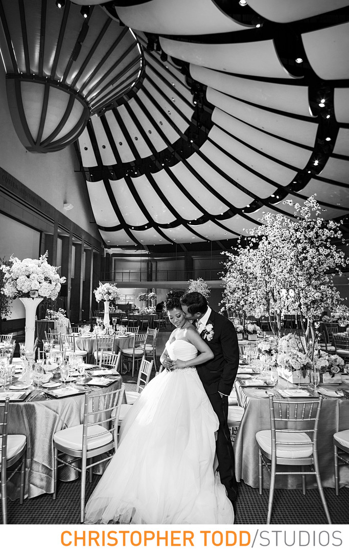 Skirball Cultural Center Featuring Bride and Groom