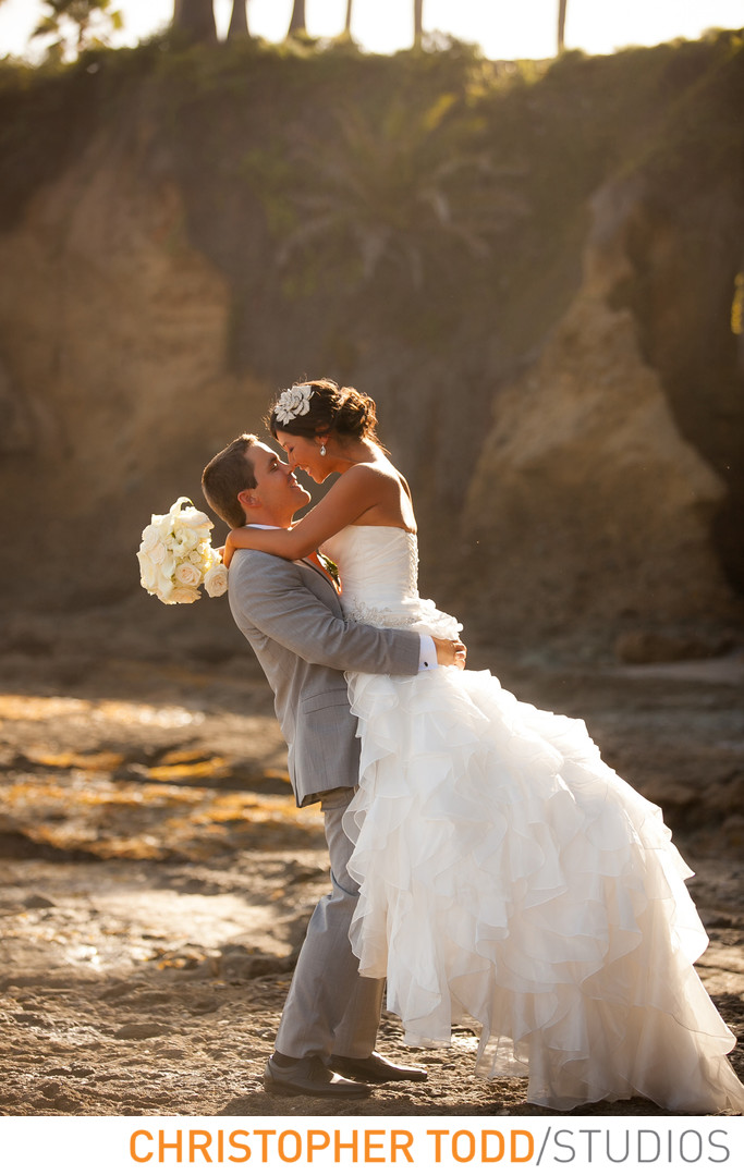Laguna Beach Wedding Portraits at Montage Resort