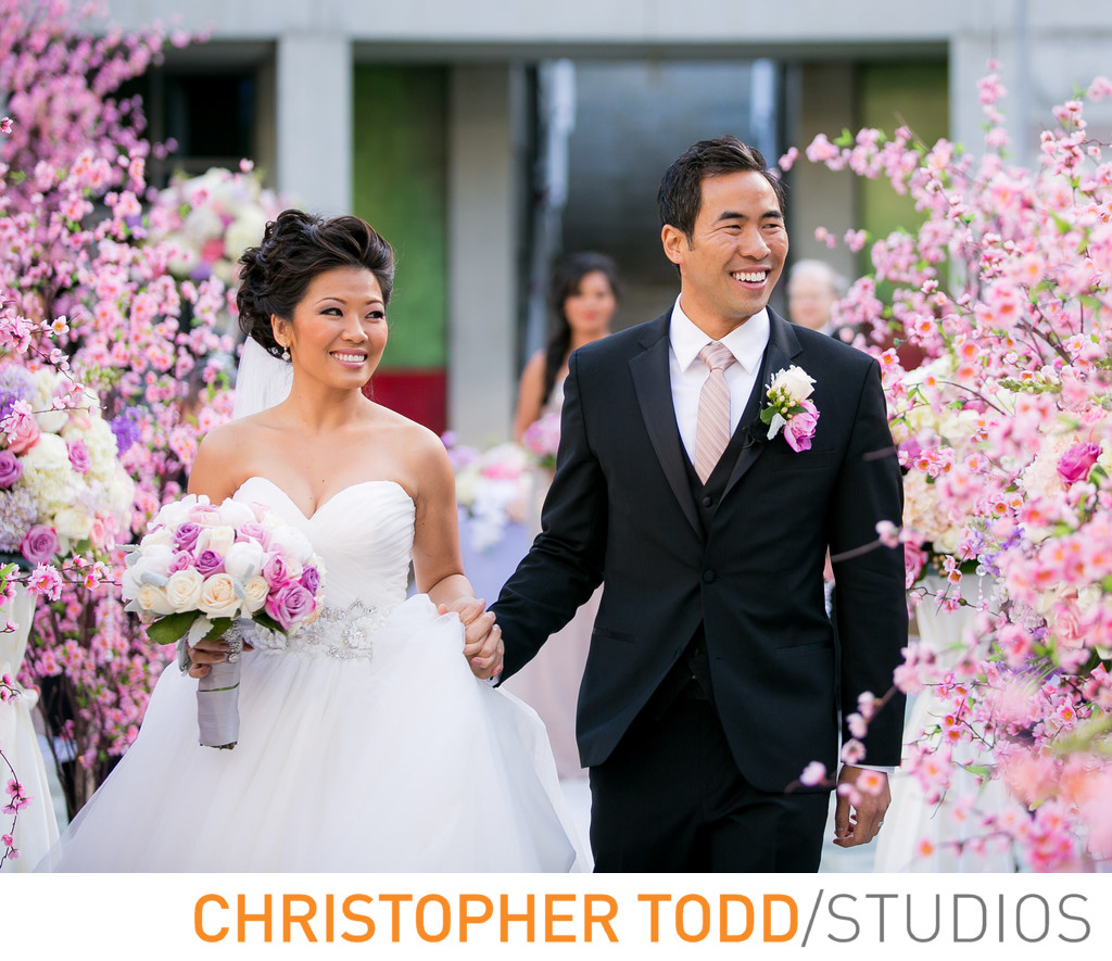 Skirball Wedding