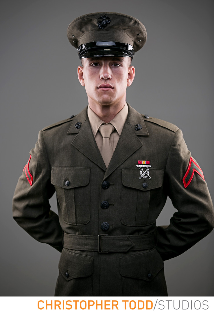 Second Generation Marine Headshot