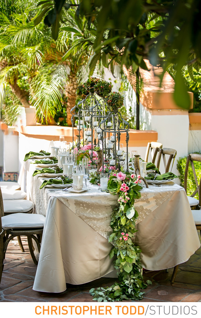 Sweetheart Table Rancho Las Lomas