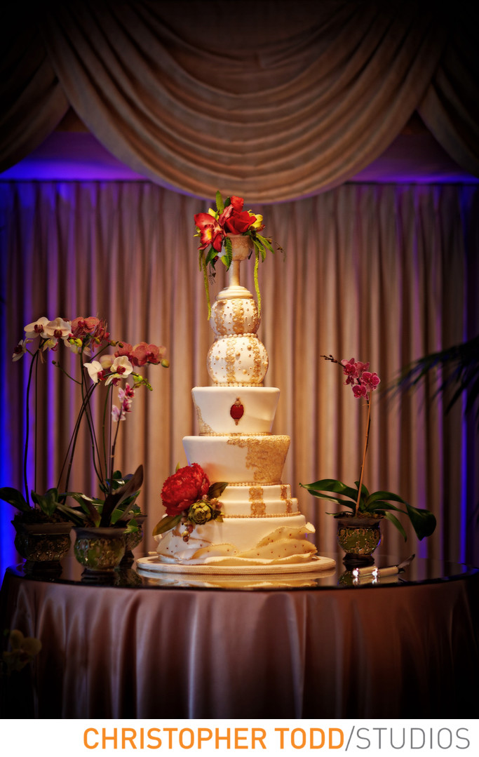 Wedding Cake at Grand Tradition