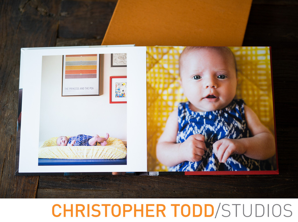 Custom Baby Photo Albums Orange County