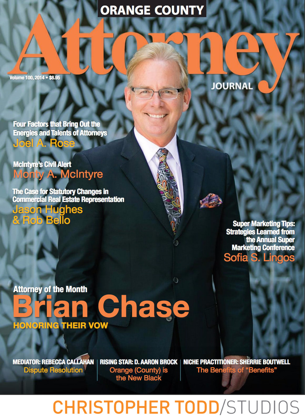 Magazine Cover Portrait Orange County Photographer